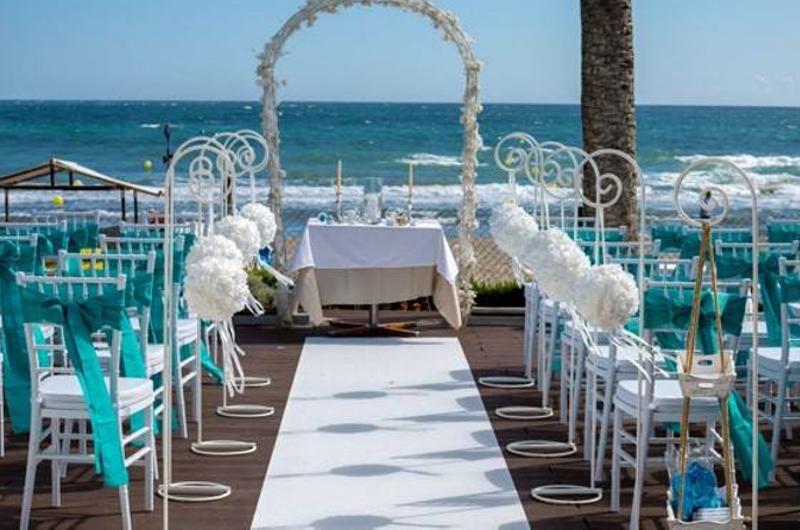 Beach club wedding marbella - Estrella del mar beach club ...