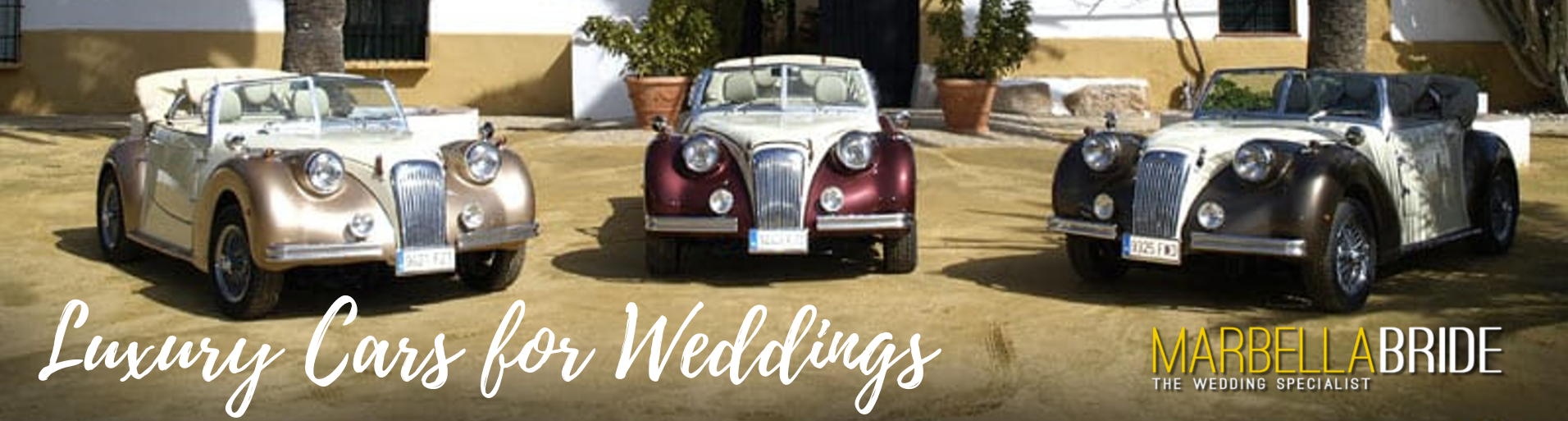 Luxury wedding cars Marbella