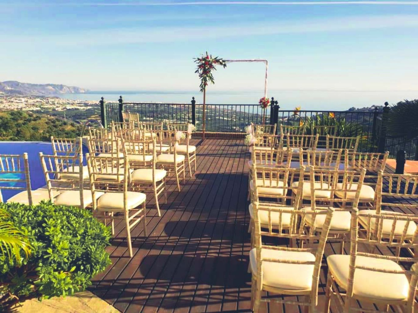 Wedding with views Spain