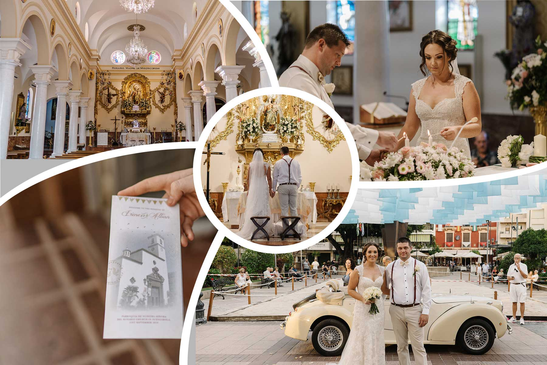 Catholic wedding in Spain