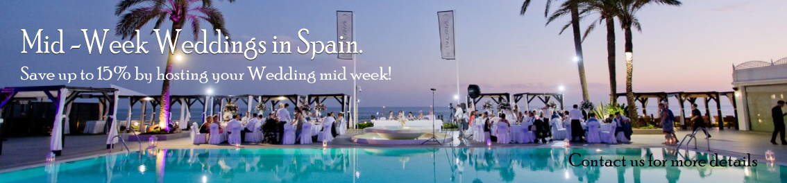 Discount wedding Marbella