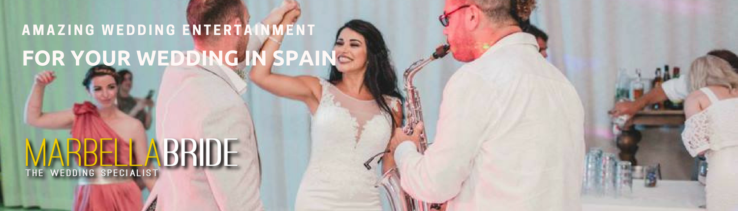 wedding entertainment Marbella