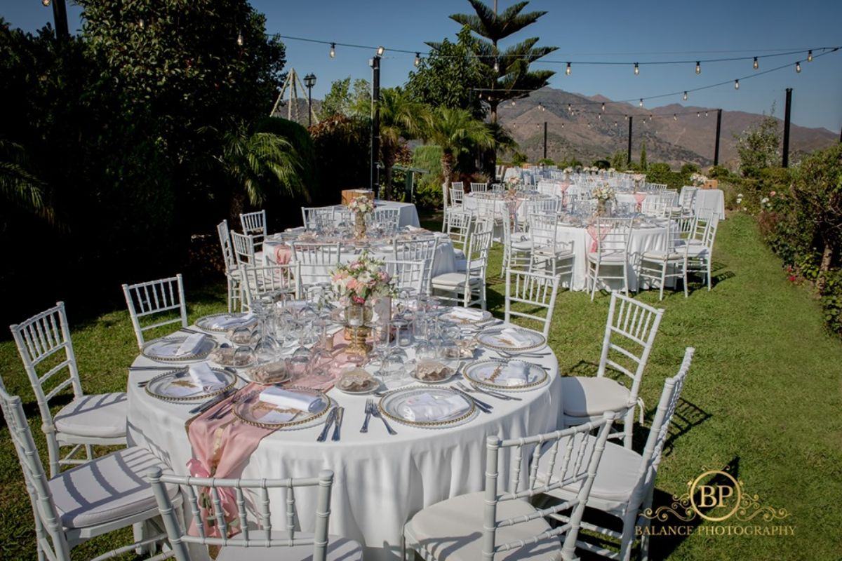 Wedding styling Marbella