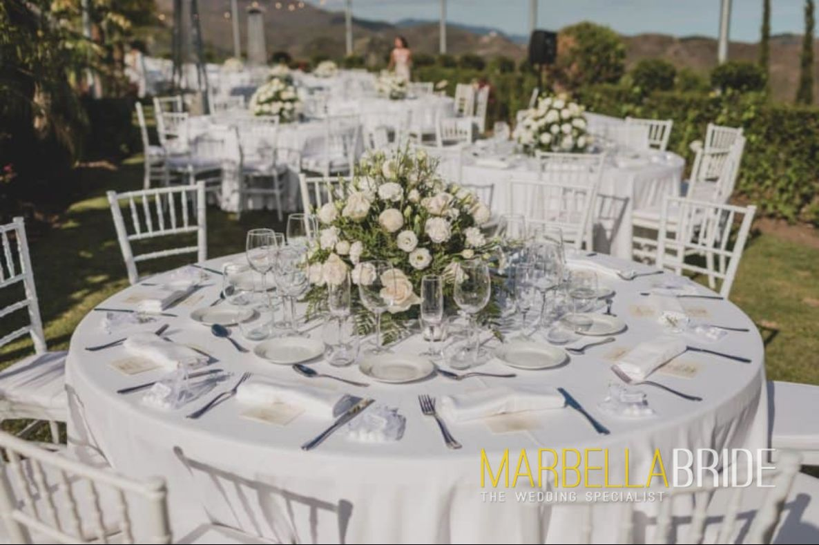 Wedding catering Marbella