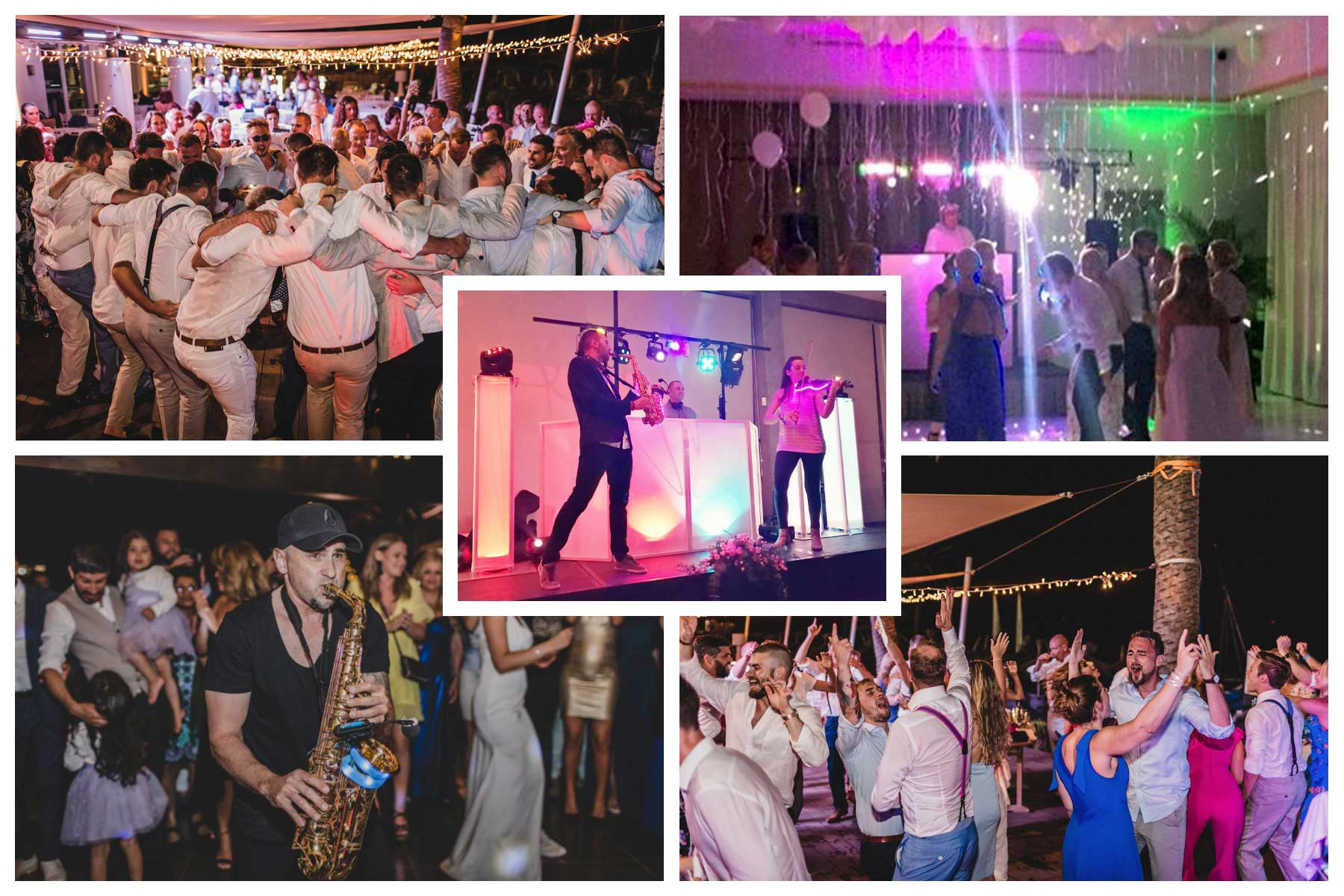 Wedding special entertainment venue Spain