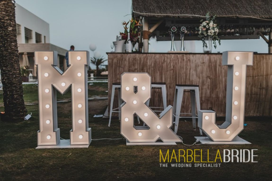 Giant Letters Marbella
