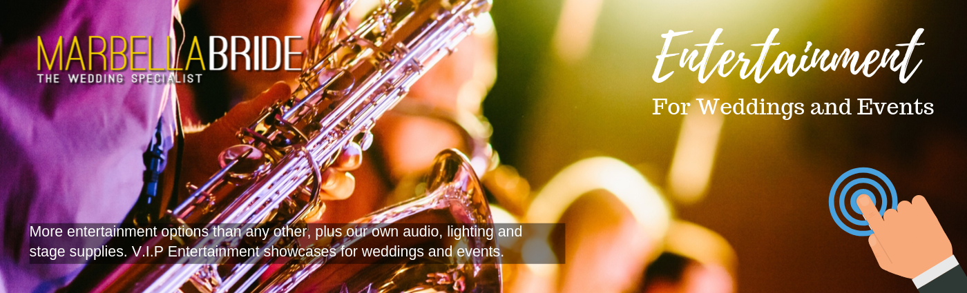 Wedding and party entertainment Marbella
