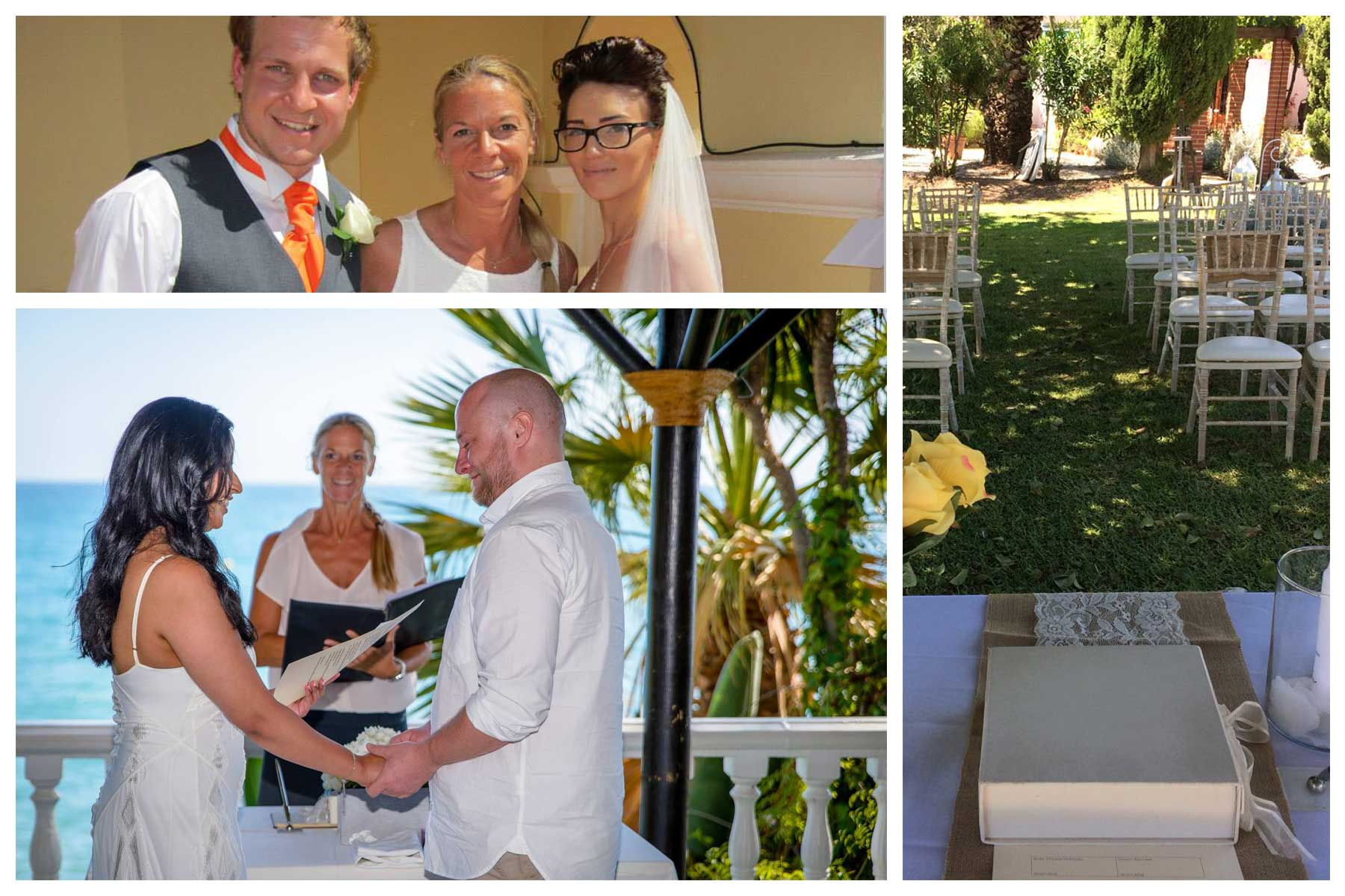 Wedding ceremonies Spain