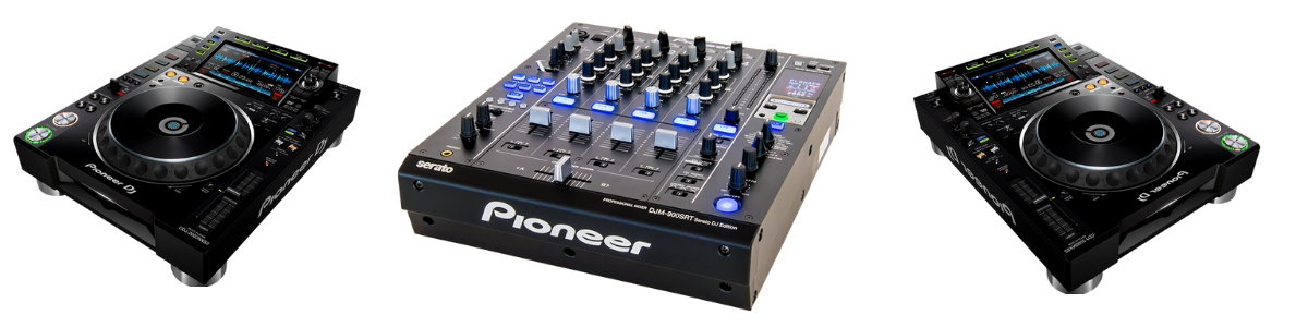 Pioneer Dj equipment Marbella