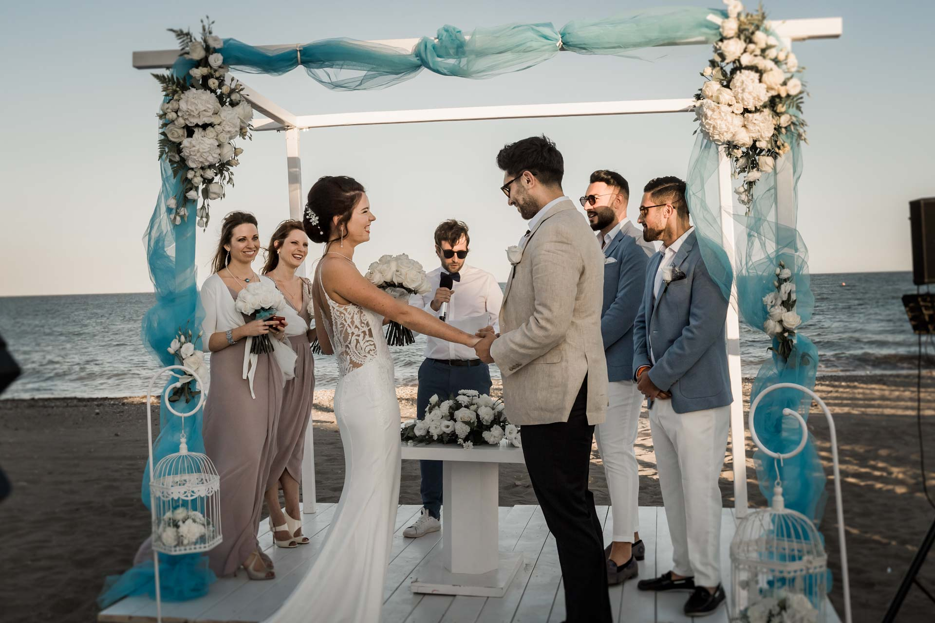 Puro beach wedding Spain