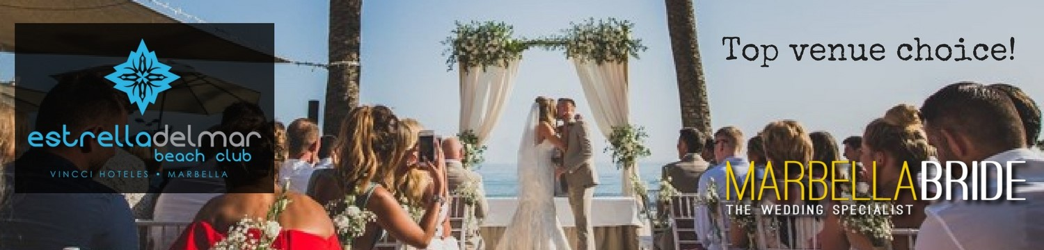 Wedding by the beach in Marbella